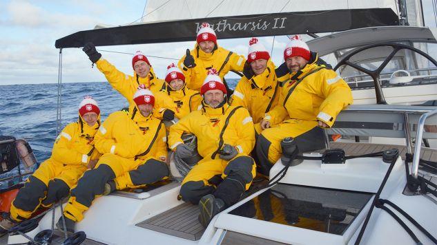 Przełomowy wyczyn polskich żeglarzy (fot. Katharsis II Expedition Around the Antarctic along the 60° S parallel)