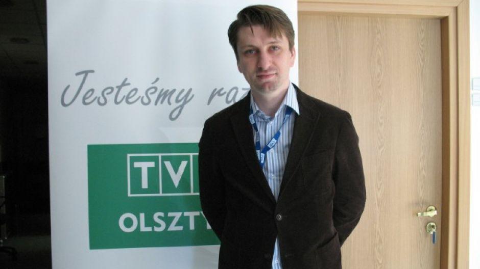 Jarosław Czuba, dyrektor Ośrodka Dokumentacji i Zbiorów Programowych Telewizji Polskiej.
