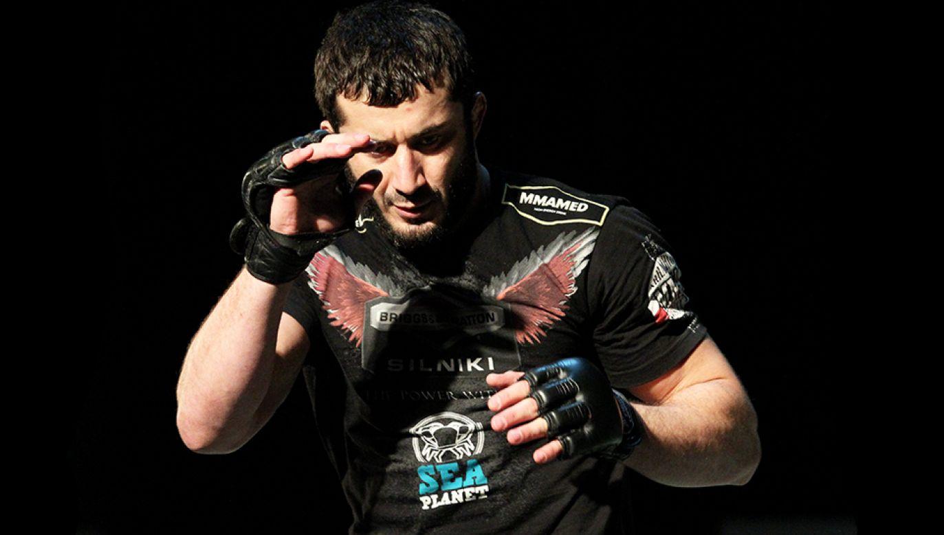 Mamed Khalidov (fot. arch.PAP/Tomasz Waszczuk)