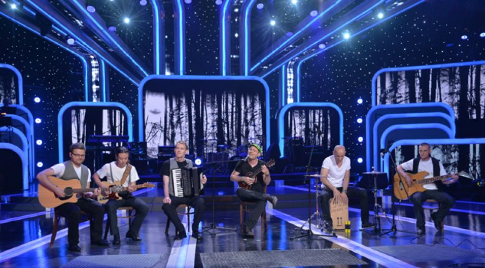 """Eden Express hitem """"Ludzkie gadanie"""" walczył o nagrodę im. Anny Jantar (fot. I. Sobieszczuk/TVP)"""