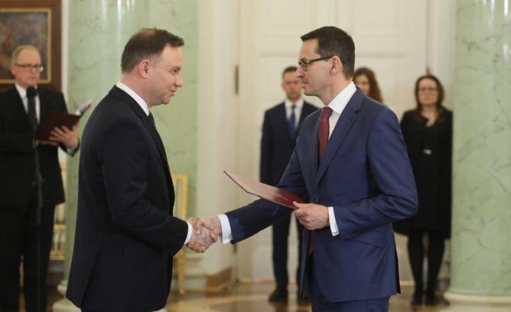 Mateusz Morawiecki zastąpi Beatę Szydło (fot. PAP/Paweł Supernak)