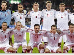 Reprezentacja Danii (fot. PAP/EPA)