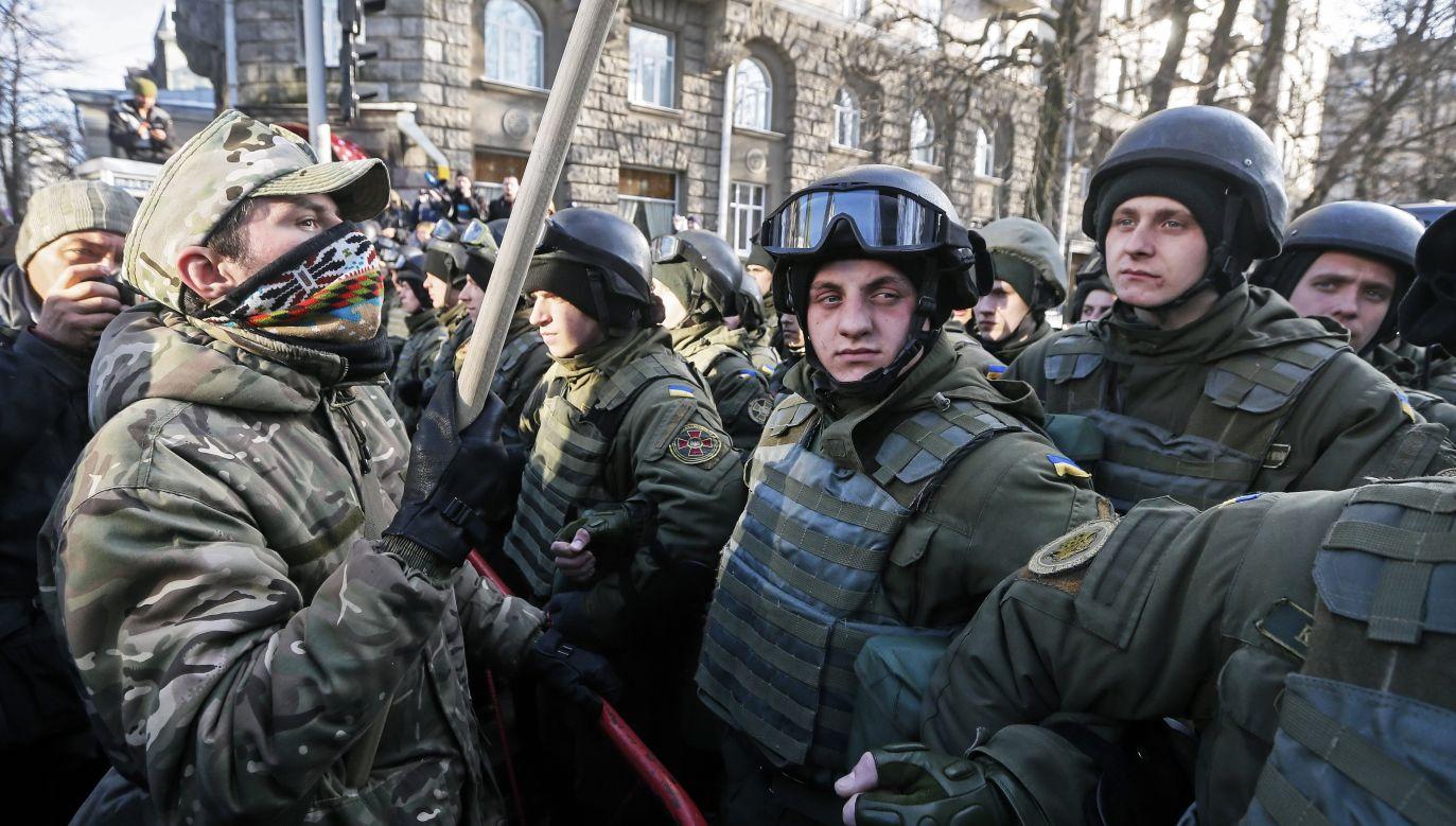 Ukraina zaniepokojona decyzją Rosji (fot. EPA/SERGEY DOLZHENKO)