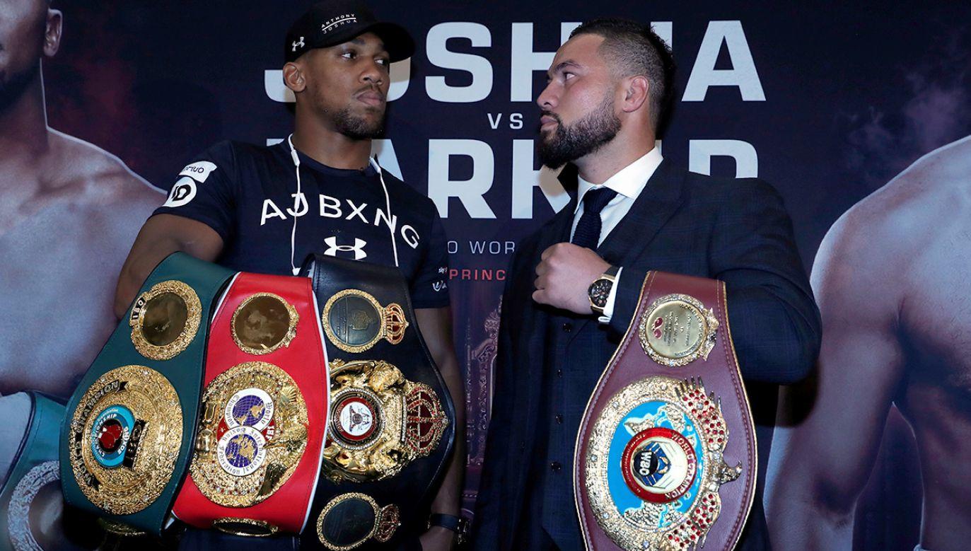 Walka mistrzów – Anthony'ego Joshui (tytuły IBF, WBA i IBO) z Josephem Parkerem (tytuł WBO) – będzie nie lada gratką dla kibiców boksu (fot. Action Images via Reuters/Andrew Couldridge)