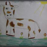 Rysunek Łucji Bieniasz, 6 lat