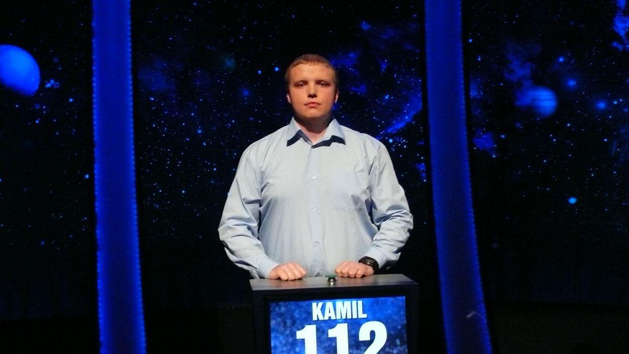 Kamil Nowacki - zwycięzca 6 odcinka 99 edycji