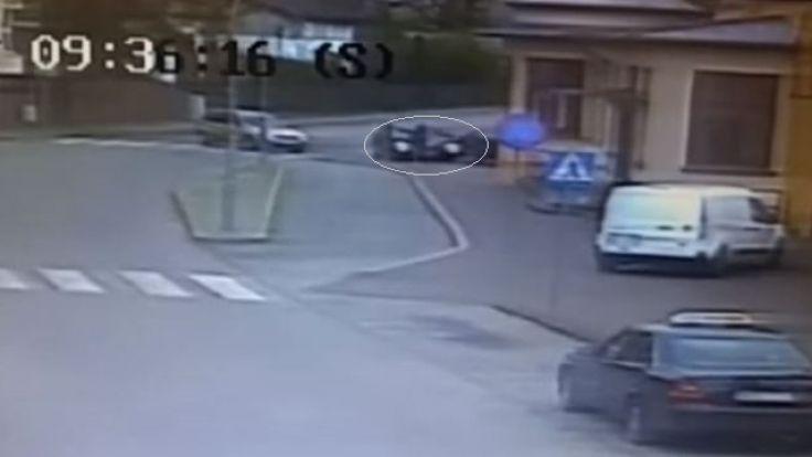Do zdarzenia doszło na ul. Słowackiego w Ostródzie
