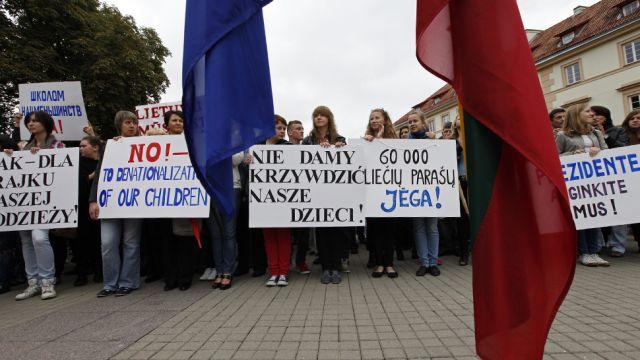 Polskie szkoły na Litwie będą strajkować. Żądają zmiany ustawy o oświacie