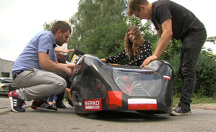 Sukces studentów PWSZ w Krośnie w Shell  Eco-marathonie