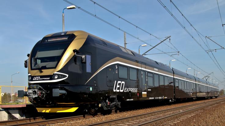 Obecnie pociągi przewoźnika jeżdżą też po Słowacji i w Niemczech, fot. le.cz