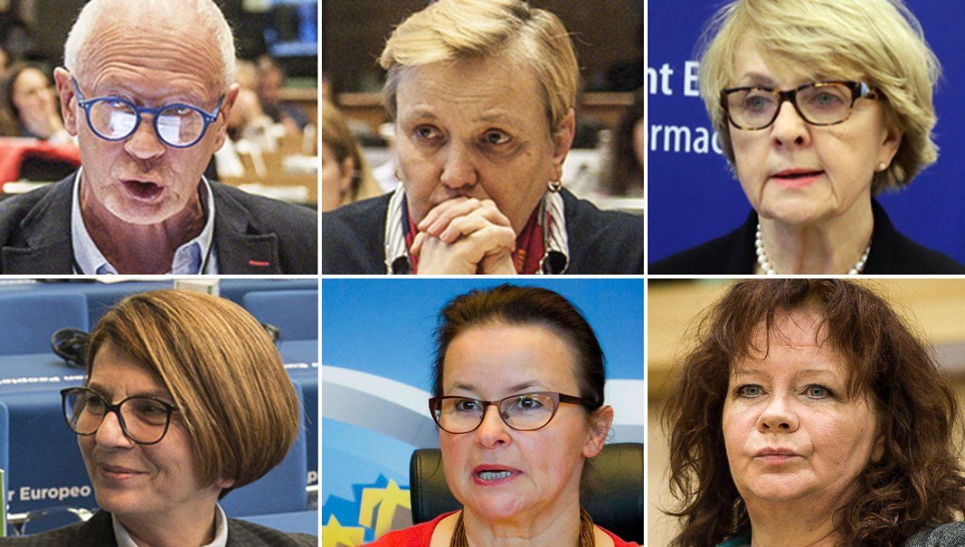 Sześcioro europosłów PO głosowało za przyjęciem rezolucji PE ws. praworządności w Polsce (fot. PAP(6)/arch.PAP)