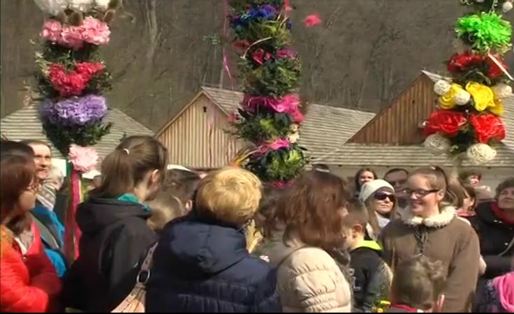 W sanockim skansenie odbył się konkurs na najpiekniejszą palmę.