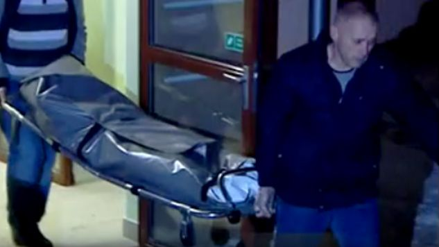 U dwójki dzieci stwierdzono rany kłute w okoliach szyi (fot. TVP Kielce)