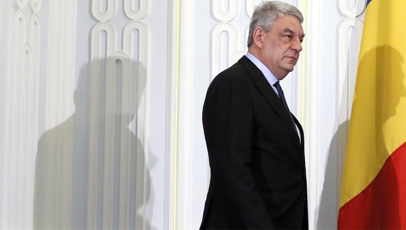 Mihai Tudose był premierem przez kilka miesięcy (fot. PAP/EPA/ROBERT GHEMENT)
