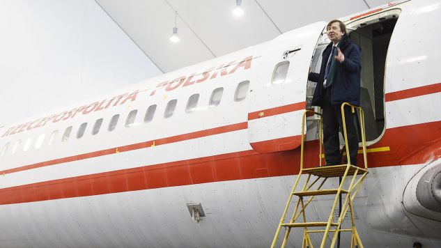 Prof. Wiesław  Binienda, ekspert do spraw badania katastrofy smoleńskiej (fot. PAP/Radek Pietruszka)