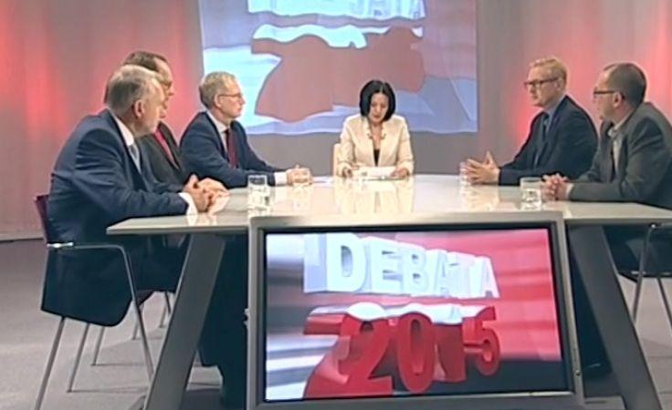 Pierwsza z przedwyborczych debat za nami
