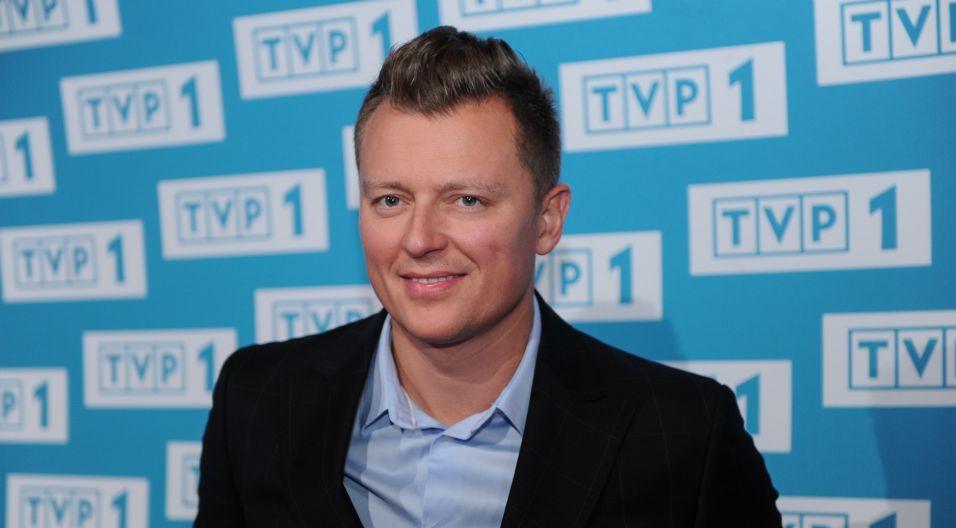 Rafał Brzozowski w tym roku zaśpiewa, ale też poprowadzi koncert (fot. Natasza Młudzik/TVP)
