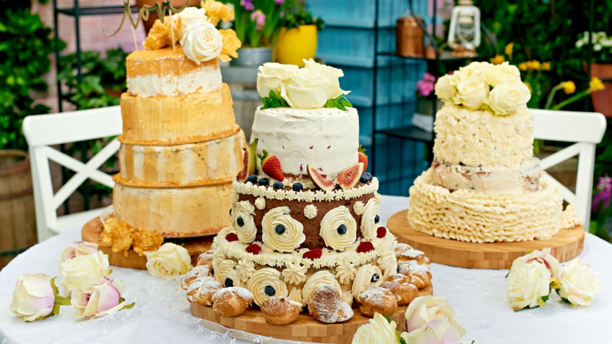 Finałowe torty to prawdziwy majstersztyk! (fot. TVP)