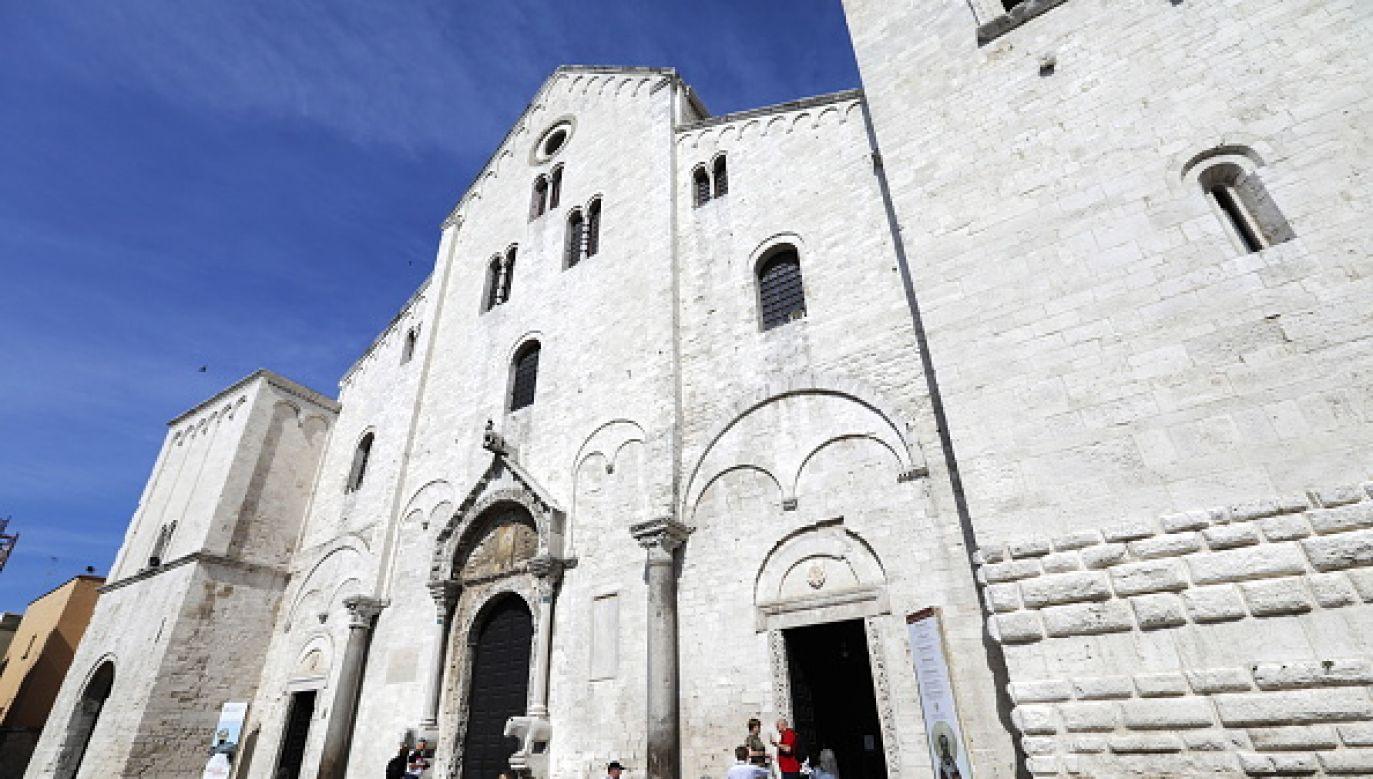 W Bari znajdują się szczątki św. Mikołaja (Mikhail Japaridze\TASS via Getty Images)