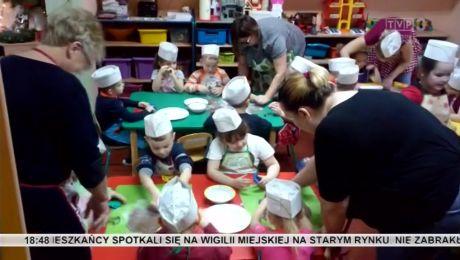 Film od widza: przedszkolaki z Santoka upiekły pierniczki