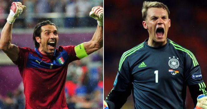 Gianluigi Buffon czy Manuel Neuer? Kto w czwartek zachowa czyste konto? (fot. Getty Images)