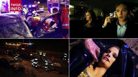 Rosyjska ruletka za kierownicą. Tak, według policji, wielu młodych przegrywa życie (fot. wm.policja.gov.pl)