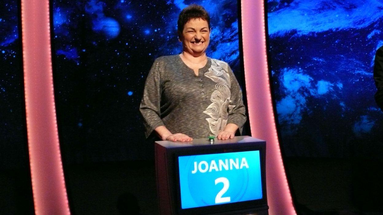 Pani Joanna cieszy się z dotarcia do rundy finałowej 1 odcinka 111 edycji programu