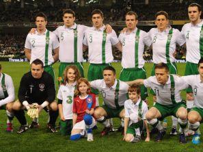 Reprezentacja Irlandii (fot. PAP/EPA)