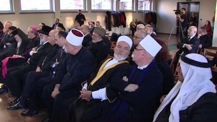 Przywódcy religijni z Izraela: Auschwitz nie może się powtórzy (fot. TVP Kraków)