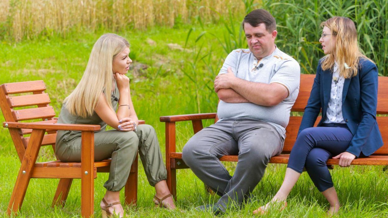 Bohaterowie odbyli ze sobą szczerą rozmowę, podczas której... (fot. TVP)