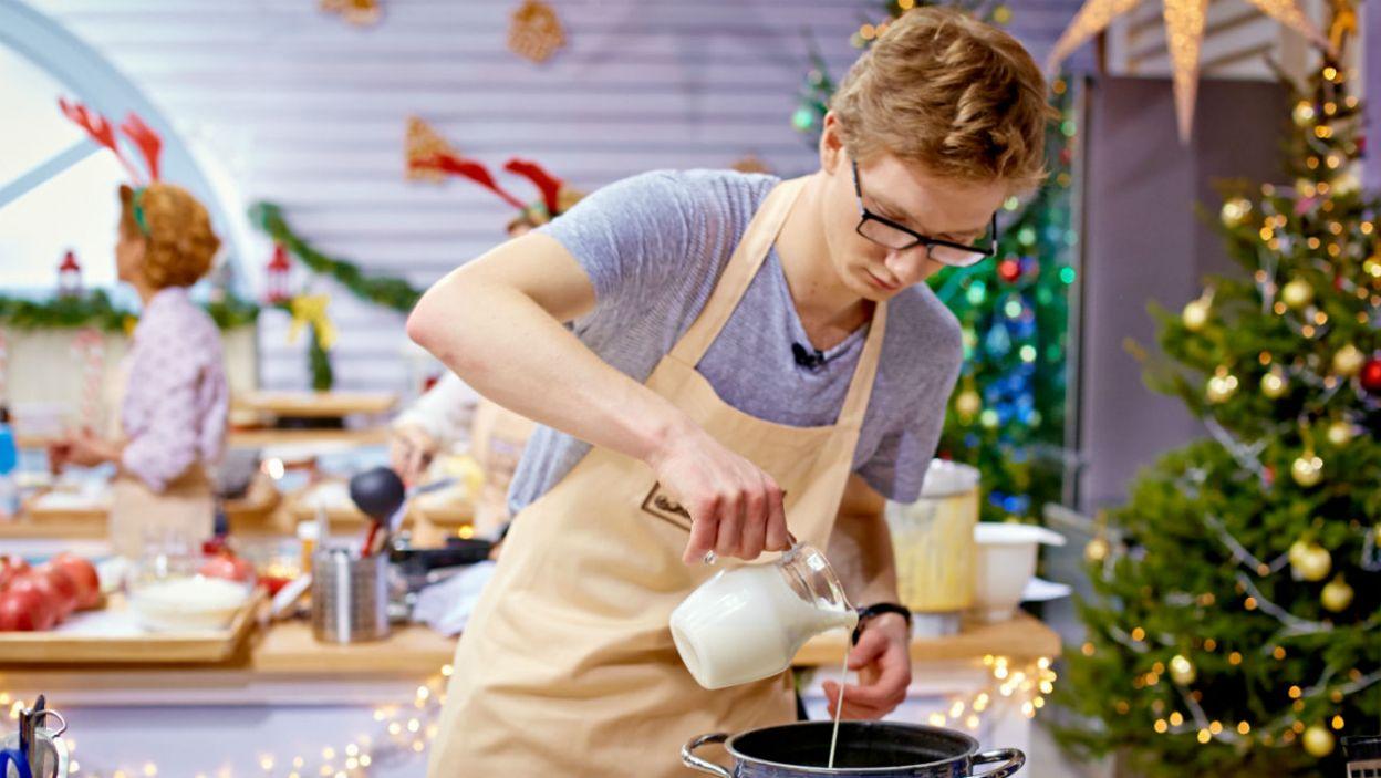 Królikowscy zdecydowali się na ciasto cytrynowo – migdałowe (fot. TVP)
