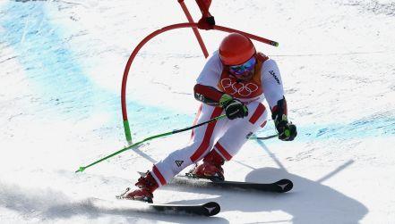 Perfekcyjny przejazd Hirschera w slalomie gigancie