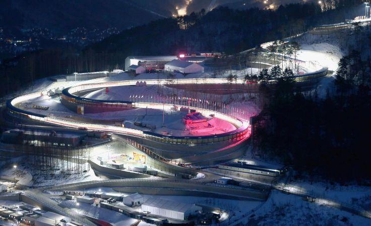 Alpensia Sliding Centre (fot. Getty Images)