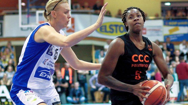 Bria Holmes (P) (fot. PAP/Lech Muszyński)