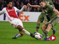 LE: Ajax wyeliminował Legię – skrót