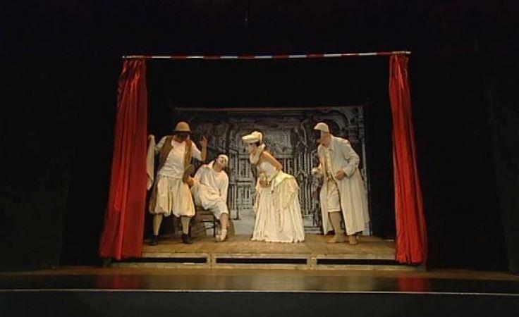 Przedstawienie powstało na motywach baśni XVIII-wiecznego weneckiego dramaturga, Carla Gozziego