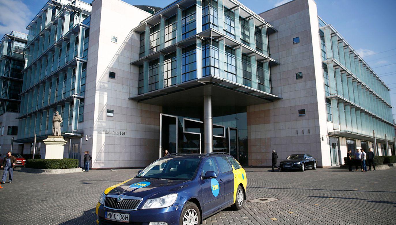 Krajowa Rada Radiofonii i Telewizji nałożyła 1 mln 479 tys. zł kary na spółkę TVN SA (fot. REUTERS/Kacper Pempel)