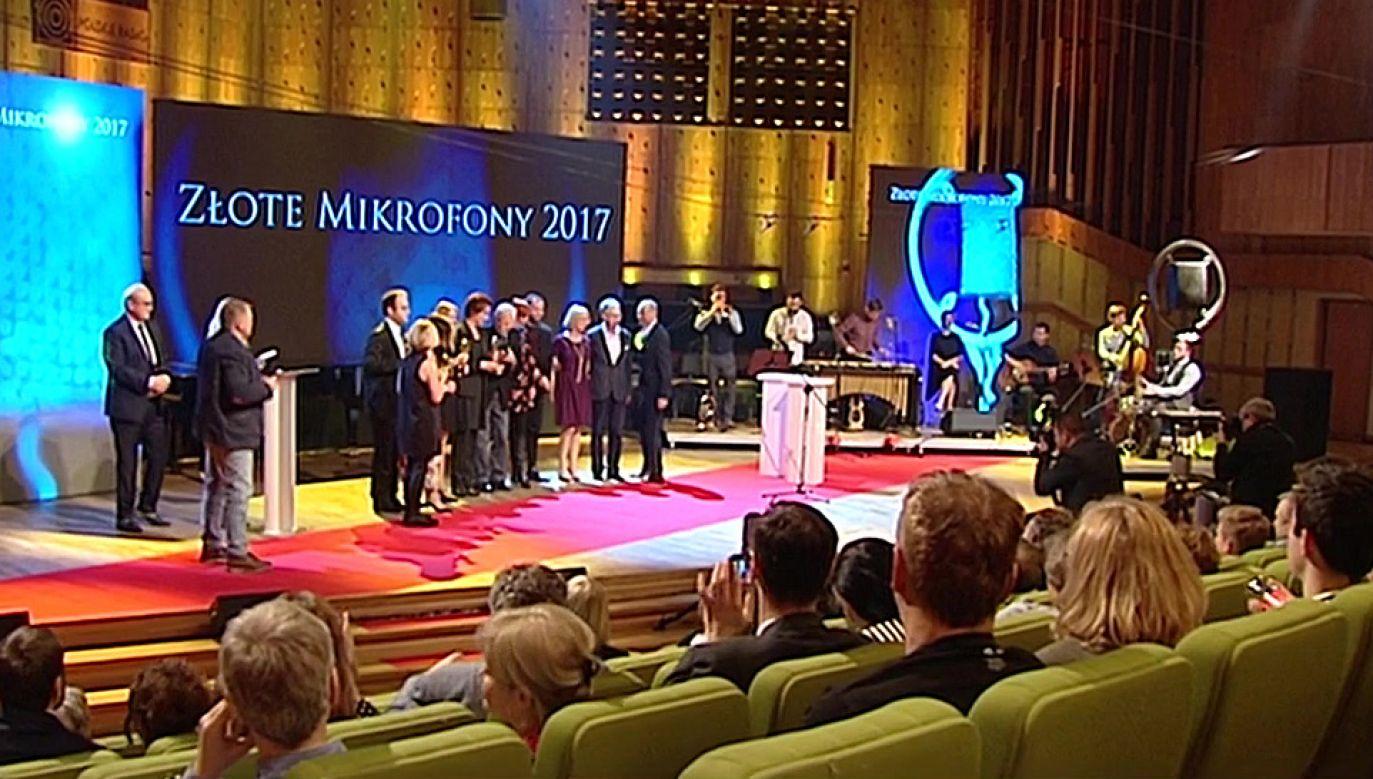 Uroczysta gala odbyła się w Warszawie (fot. TVP Info)