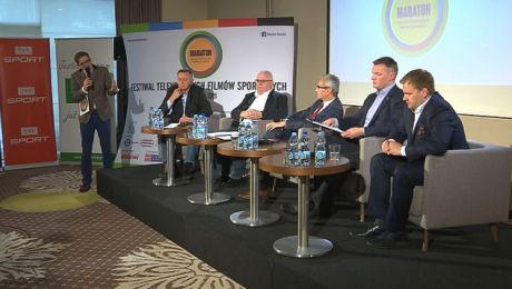 "Maraton Festiwal: debata ""Sponsoring w sporcie"""