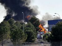 Grecki F-16 w Hiszpanii spadł na stojące na płycie maszyny. Dziesięciu zabitych