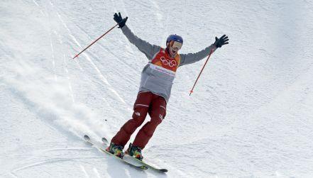Slopestyle: przejazd Nicholasa Goeppera po srebrny medal