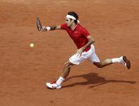 Rogera Federera było stać tylko na wygranie jednego seta (fot. PAP/EPA)