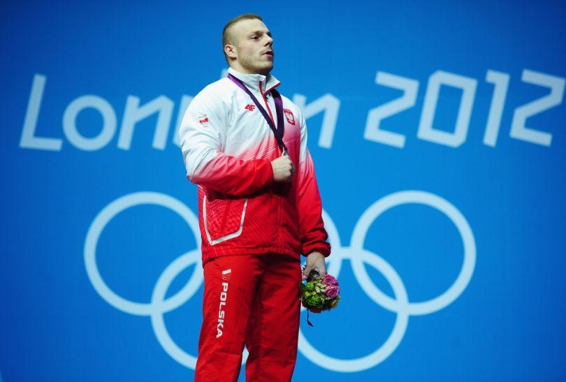Po raz pierwszy podczas IO w Londynie wybrzmiał Mazurek Dąbrowskiego (fot. Getty Images)