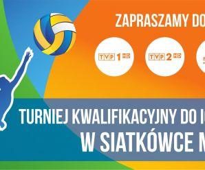 Turniej kwalifikacyjny do IO 2016 w siatkówce mężczyzn tylko w TVP!