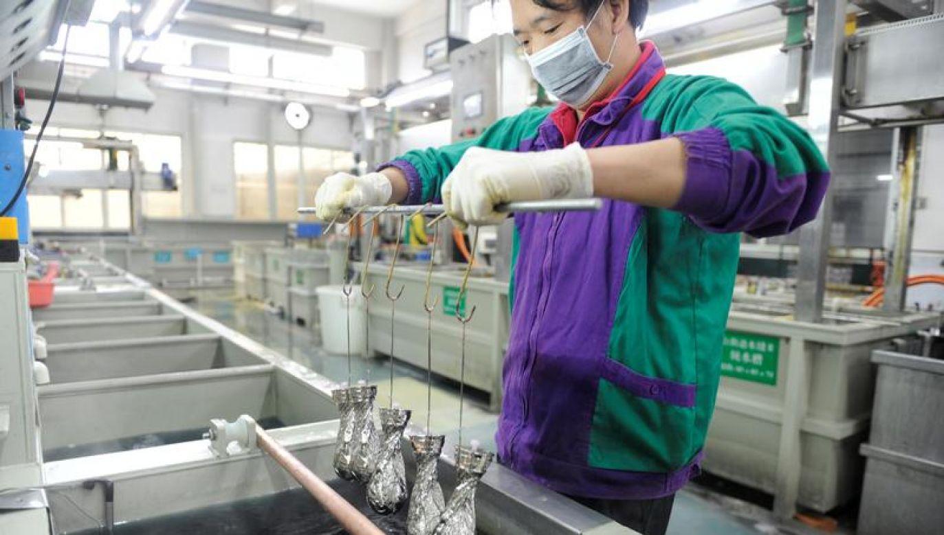 """Chiny wielokrotnie deklarowały, że będą bronić swoich """"uzasadnionych praw i interesów"""" (fot. Reuters/Stringer)"""