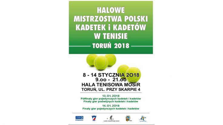 Halowe mistrzostwa Polski kadetek i kadetów w tenisie