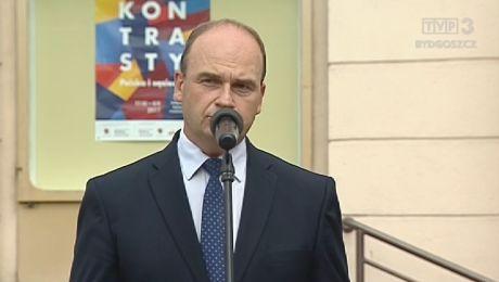 Inicjatorem uroczystości był radny sejmiku Michał Krzemkowski