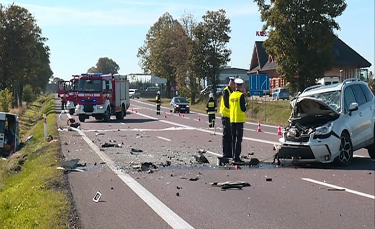 Groźny wypadek w Duńkowiczkach k. Przemyśla.