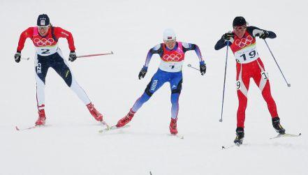 Retro igrzyska: finisz biegu Kowalczyk po brązowy medal w Turynie