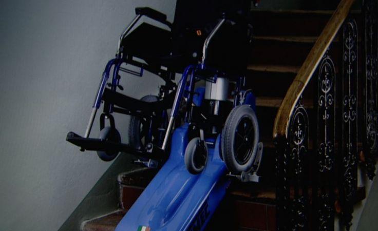 Niepełnosprawnemu Kamilowi skradziono schodołaz